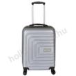 ezüst bőrönd