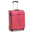világos rózsaszín bőrönd