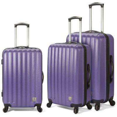 Benzi bőrönd BZ-4283 lila