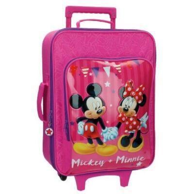 Minnie + Mickey Egér gyermekbőrönd