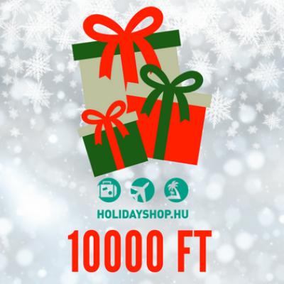 Karácsonyi ajándékutalvány 10000 Ft