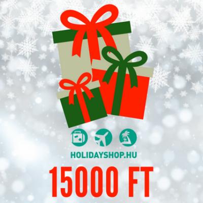 Karácsonyi ajándékutalvány 15000 Ft
