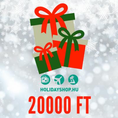 Karácsonyi ajándékutalvány 20000 Ft