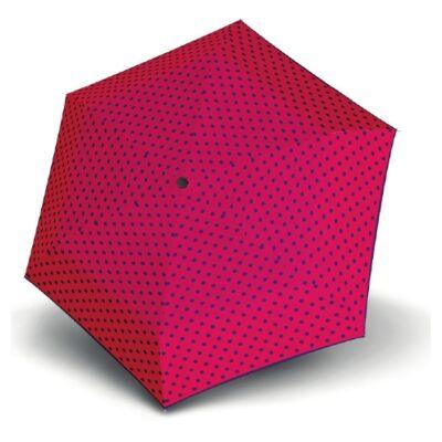 Derby kézi nyitású pöttyös esernyő (Flat Dots)