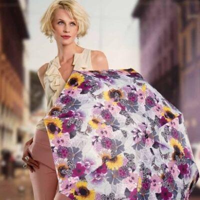 Doppler félautomata női esernyő (Prima Vera)