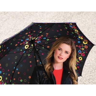 Doppler félautomata női esernyő (Party Rings)