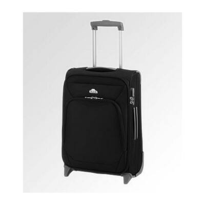 DN-6160 bőrönd fekete közepes