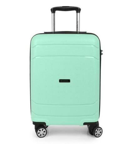 A menta zöld színű kabinbőrönd