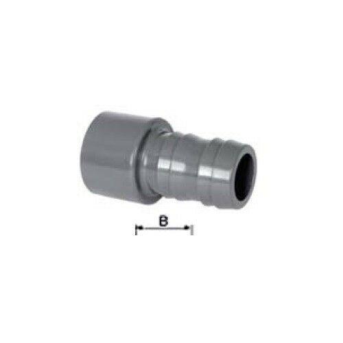 Toldó 38 mm gégecsőhöz  - PVC idom D50 mm