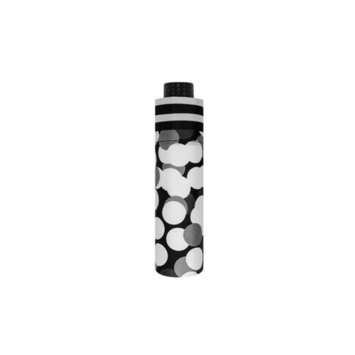 Doppler kézi nyitású női esernyő (Fiber Havanna Black & White)