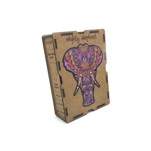 Hatalmas Elefánt különleges fa puzzle (167 db-os, 14+)
