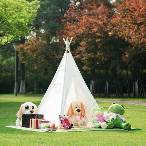 Indián sátor gyerekeknek fehér
