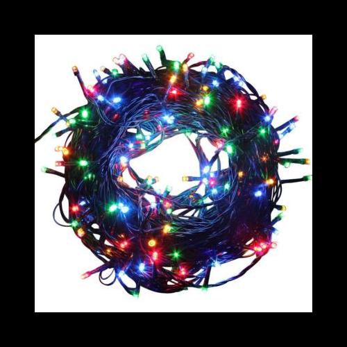 LED fényfüzér 8 programmal (39 m, színes vagy meleg fehér)