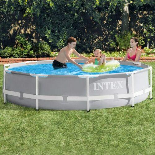 INTEX MetalPrism Set medence vízforgatóval 2020-as modell (305 x 76 cm)