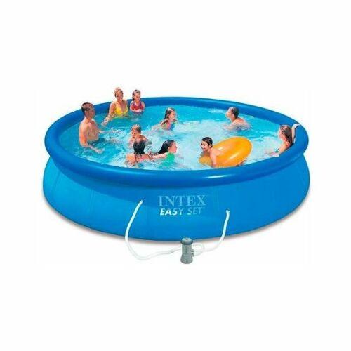 INTEX EasySet puhafalú medence vízforgatóval 2020-as modell (396 x 84 cm)