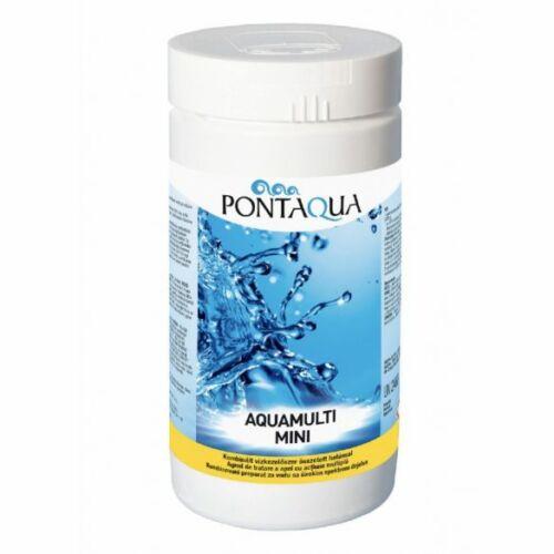 Aquamulti mini 3in1 medence vízkezelő multi tabletta (20 g-os)