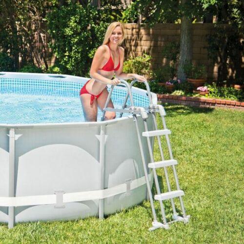 INTEX Biztonsági medence létra 3 fokos, 91-107 cm magas medencékhez