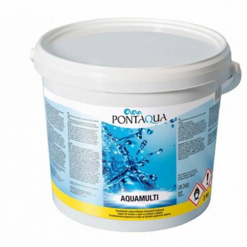 Aquamulti (200 gr) 3kg, 3in1 vízkezelő multi tabletta