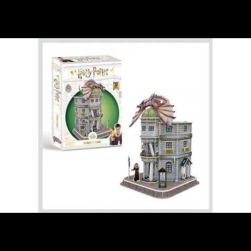 3D Puzzle Harry Potter - Gringotts Bank (74 db-os; 8+)