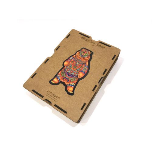 Bájos Medve különleges fa puzzle (187 db-os, 14+)