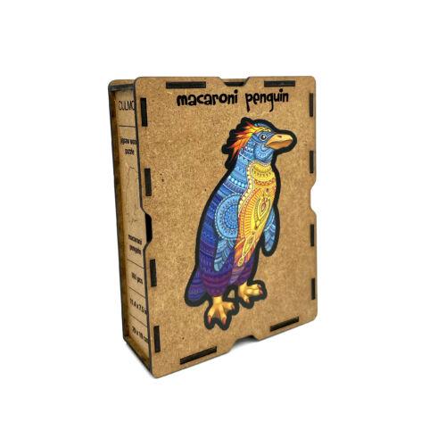 Bóbitás Pingvin különleges fa puzzle (161 db-os, 14+)