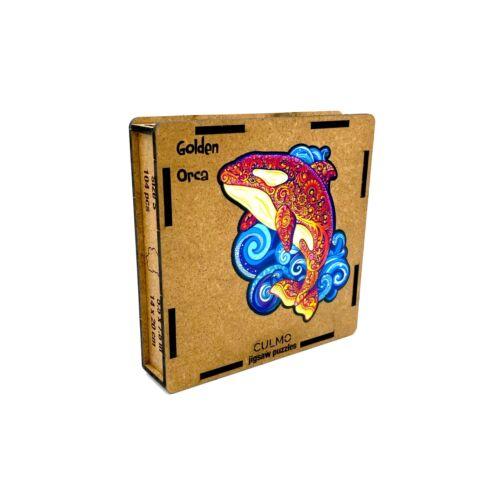 Kardszárnyú Delfin különleges fa puzzle (118 db-os, 14+)