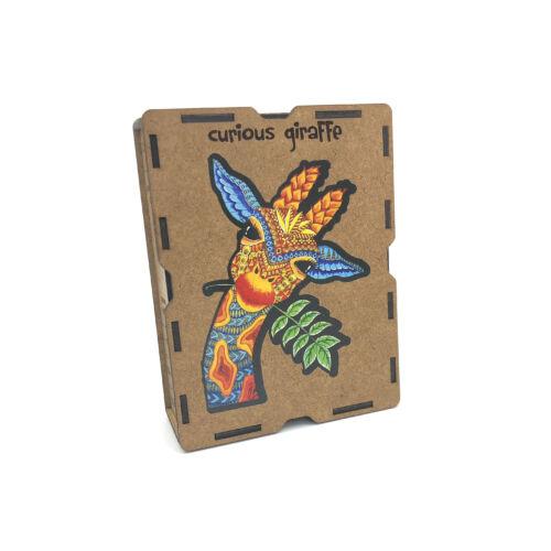 Kíváncsi Zsiráf különleges fa puzzle (110 db-os, 14+)