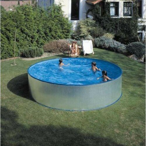 Velence kombi fémpalástos medence vízforgatóval (450 x 90 cm)
