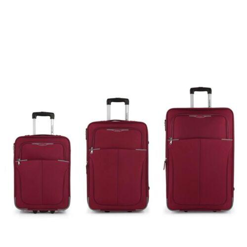 Gabol Malasia bőröndszett piros