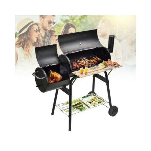 Faszenes BBQ grill és smoker (füstölő) 2in1