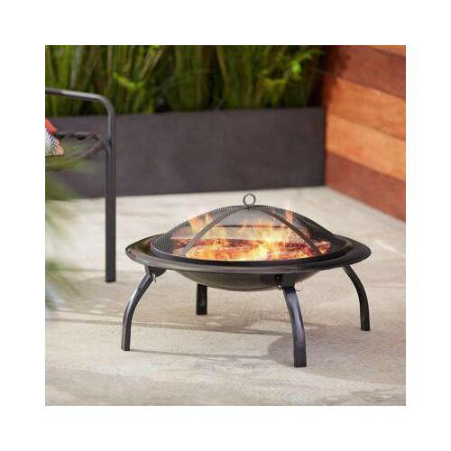 Hordozható tűzrakó és grillező, ajándék hordtáskával