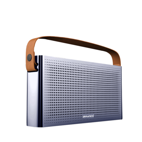 AWEI Y300 - Hordozható Bluetooth hangszóró (Power bankkal)