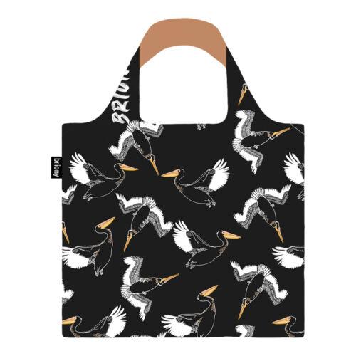 Briony Újrahasznosított Bevásárló Táska Black Pelican