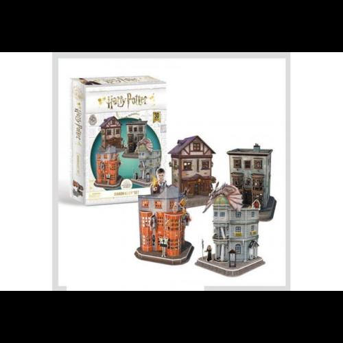 3D puzzle Harry Potter - Abszol Út (4 épület, 273 db-os)