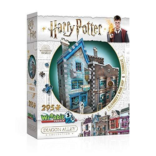 3D puzzle Harry Potter - Ollivander Pálcabolt (295 db-os)