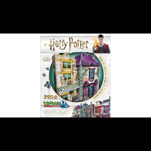 3D puzzle Harry Potter - Madam Malkin Talárszabóság (290 db-os)