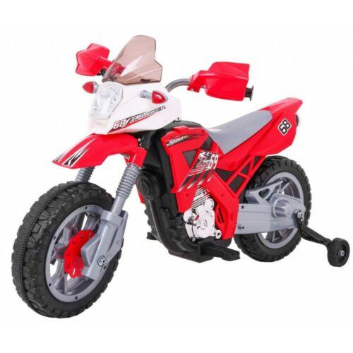 Cross elektromos kisMotor gyerekeknek (pótkerékkel)
