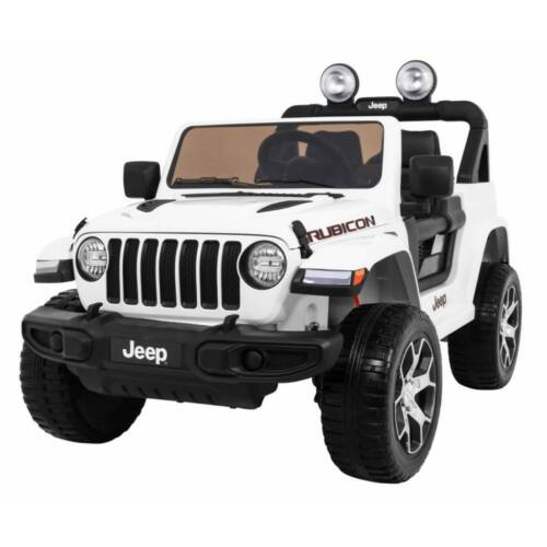 Jeep Wrangler Rubicon elektromos kisautó gyerekeknek (távirányítóval, 1 személyes)