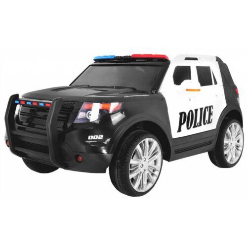 SUV lengyel rendőr elektromos kisautó gyerekeknek (távirányítóval, 1 személyes)