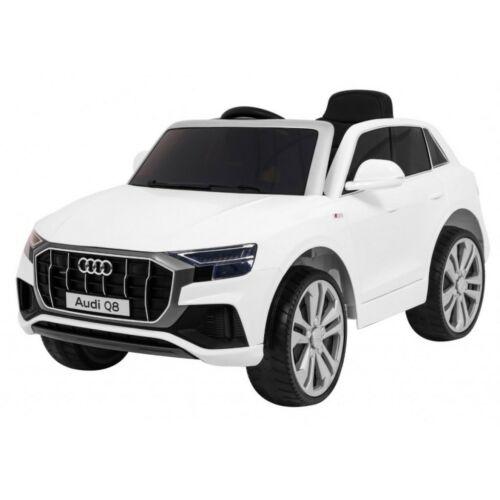 Audi Q8 elektromos kisautó gyerekeknek (távirányítóval, 1 személyes)