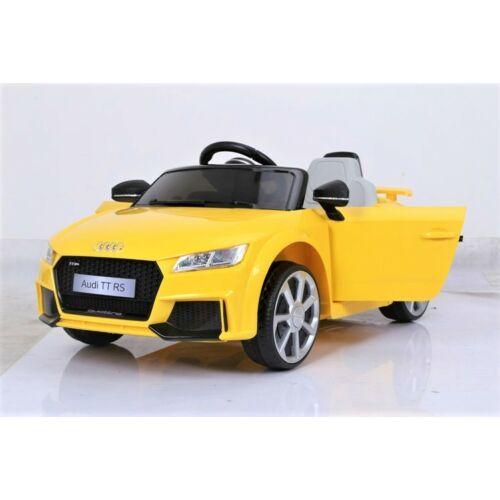 Audi TT Quatro RS elektromos kisautó gyerekeknek (távirányítóval, 1 személyes)