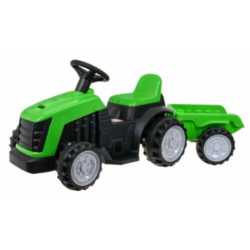 Elektromos kisTraktor pótkocsival gyerekeknek