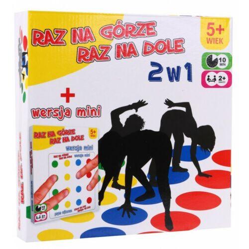 Twister 2in1 társasjáték (5-99 éves korig)