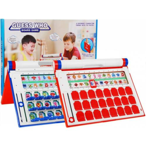 Találd ki, ki az? Barkóba társasjáték 8 féle táblával (5+)