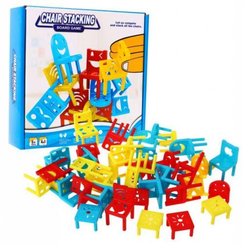 Széktorony családi társasjáték (6 éves kortól)