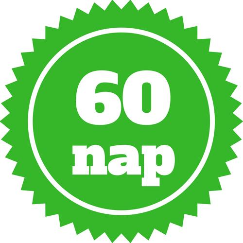 60 napos visszaküldési garancia