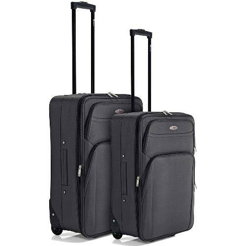 Benzi bőrönd 2 db-os szett (közepes és nagy) szürke