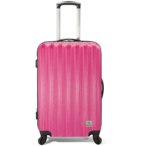 Benzi bőrönd BZ-4283 rózsaszín