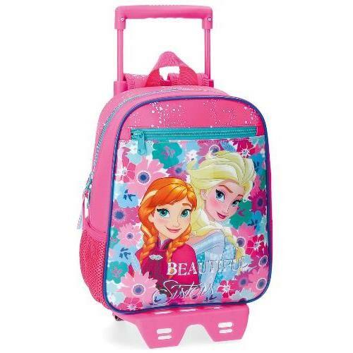 Jégvarázs Anna és Elsa gurulós hátizsák