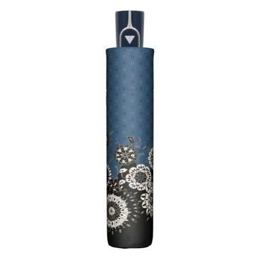 Doppler félautomata női esernyő (Fiber Style) B kék